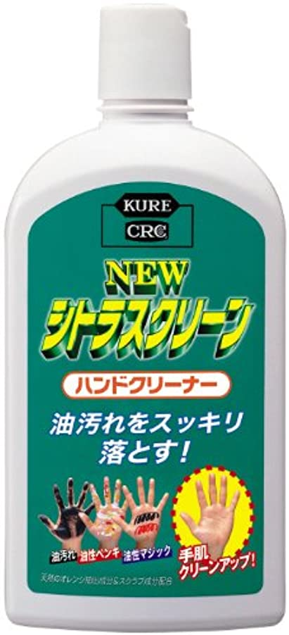 アジャドラム君主KURE(呉工業) ニュー シトラスクリーン ハンドクリーナー (470ml) [ 品番 ] 2282