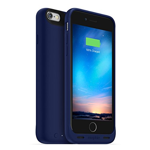 日本正規代理店品・保証付mophie juice pack reserve for iPhone 6s/6 (1,840mAh バッテリー内蔵ケース) ブルー MOP-PH-000123