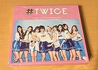 #TWICE 初回限定盤A (CD+写真集) 封入特典:トレーディングカード、IDカード付き