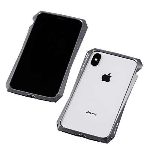 Deff(ディーフ) CLEAVE Aluminum Bumper 180 for iPhone XS アルミバンパー iPhone XS/X用 (グラファイト)