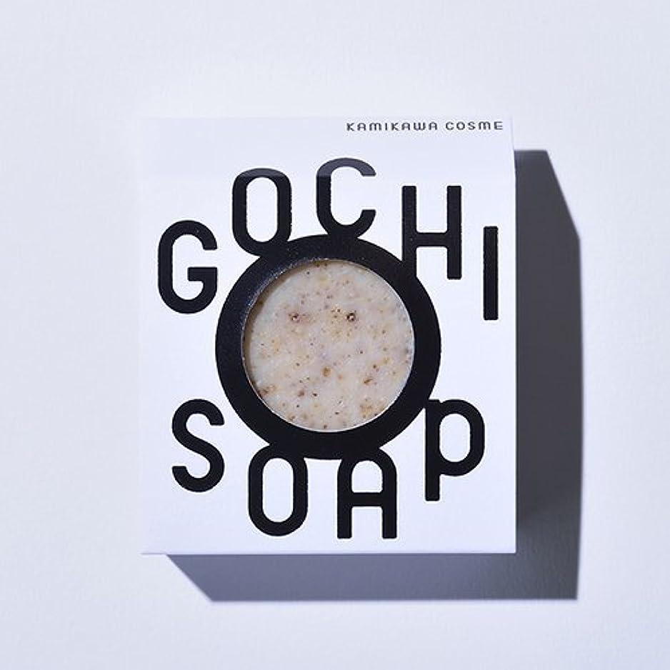 同情的会議製造GOCHI SOAP ゴチソープ 上森米穀店の焙煎黒米ソープ