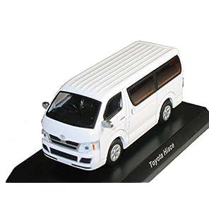 京商 1/64 ミニカーコレクション トヨタ2 ハイエース (ホワイト)