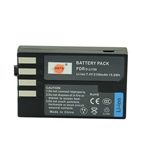DSTE® アクセサリーキット Pentax D-LI109 互換 カメラ バッテリー 2個+USB充電器キット対応機種 K-R K-30 K-50 K-500 KR K30 K50 K500 K-S1 K-S2