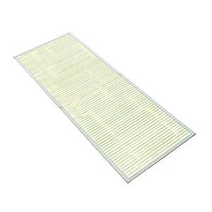 天然素材 表皮を使用した竹マット 45x120cm 2821