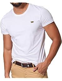 J.STORE (ジェイストア) Tシャツ ユニセックス 半袖 ワンポイント 刺繍 クルーネック シンプル