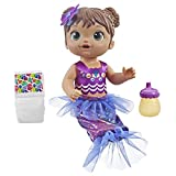 Baby Alive Shimmer 'n Splash Mermaid (Brown Hair)