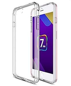 iPhone 7 Plus ケース 【KuGi】 iPhone 7 Plus 背面カバー 耐衝撃 超軽量 薄タイプ シンプルデザイン 落下防止 耐スクラッチ 保護カバー クリア