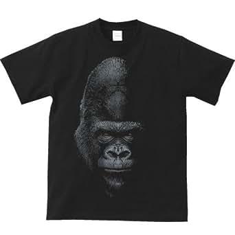 エムワイディエス(MYDS) 暗闇のゴリラ/半袖Tシャツ/黒/XLサイズ