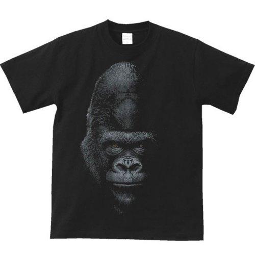 エムワイディエス(MYDS) 暗闇のゴリラ/半袖Tシャツ/黒/Mサイズ