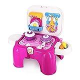 Tagitary ままごとおもちゃ 椅子型20点セット  お片付け簡単 食材類 ままごとおもちゃ キッチンごっこおもちゃ 皿・カップなどの小物 ごっこ遊び 女の子 男の子 プレゼント