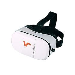 【日本語説明書付き・6ヵ月保証付き】VOX 3DVR ゴーグル ホワイト 3D体験 焦点 瞳孔距離調節可能 4- 6.5インチのスマートフォンに適用 ビデオ 映画ゲーム用