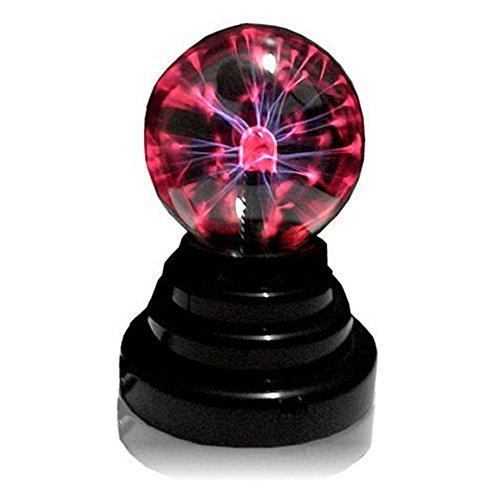 [Present-web]指や手で触ると追いかけてくる! USBポート搭載 プラズマボール エナジーボール インテリア オシャレ USBハブ 2ポート