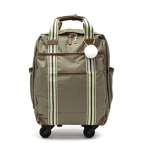[カナナプロジェクト コレクション]Kanana project COLLECTION ストライプフォールド TR スーツケース 22L 48988 カーキブラウン/08