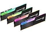 G.SKILL TridentZ RGBシリーズ 32GB (4 x 8GB) 288ピン DDR4 3600MHz デスクトップメモリーモデル F4-3600C19Q-32GTZRB