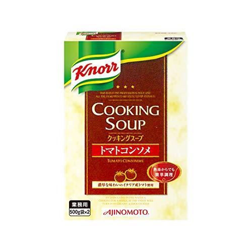 「クノールR クッキングスープ」トマトコンソメ 800g箱(400g袋×2)×10