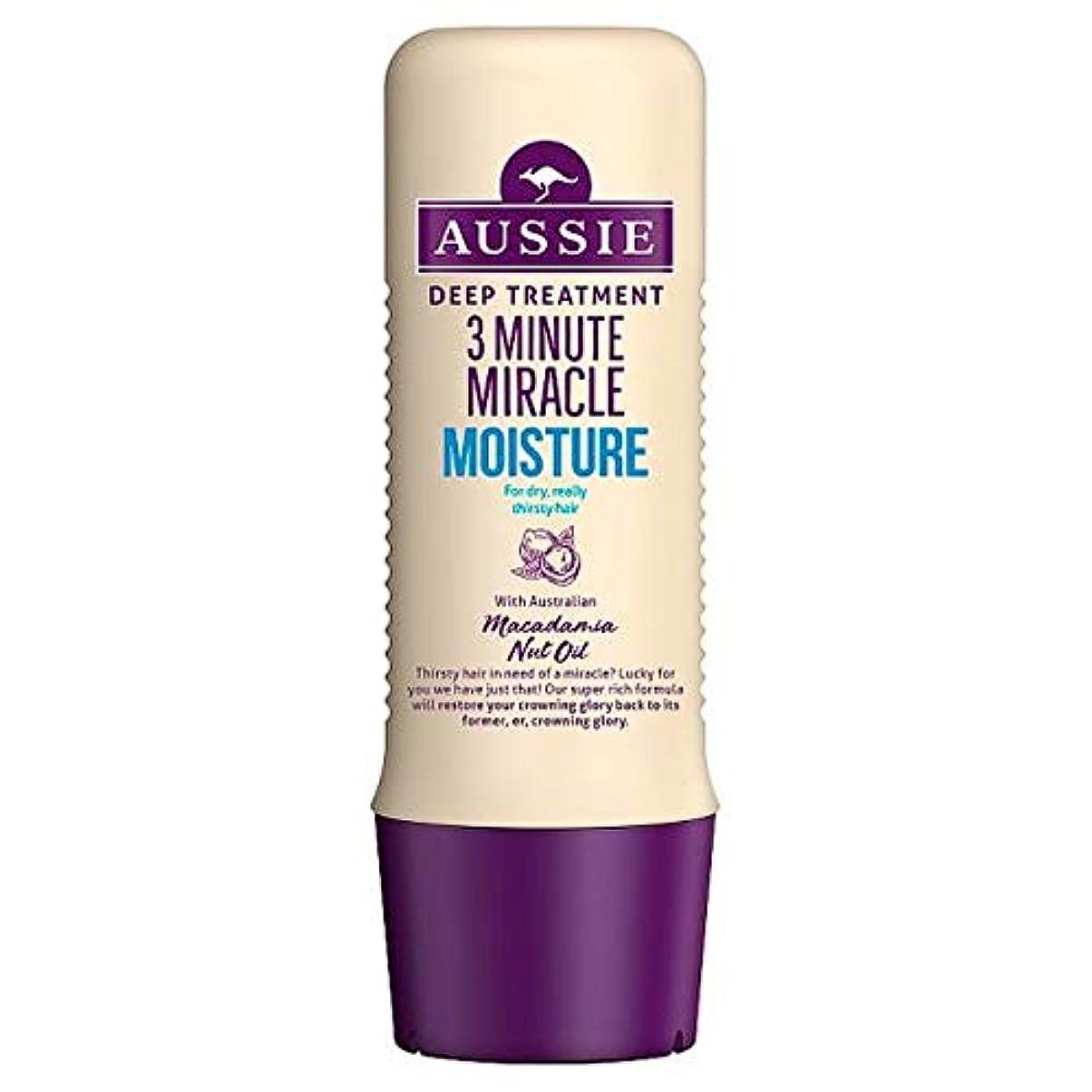 デマンド追放する痛い[Aussie] オージー3ミリメートルの奇跡湿った治療250ミリリットル - Aussie 3Mm Miracle Moist Treatment 250Ml [並行輸入品]