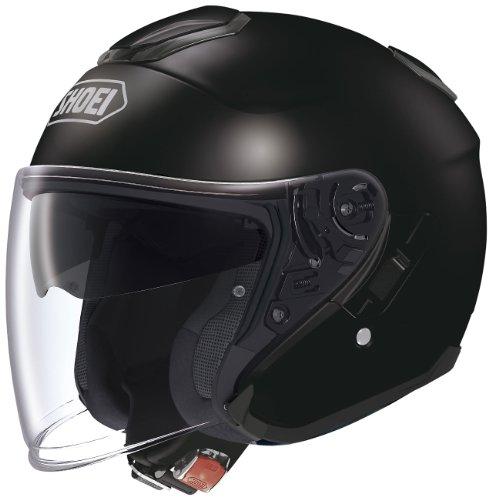 ショウエイ(SHOEI) バイクヘルメット ジェット J-CRUISE ブラック L (頭囲 59cm)