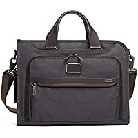 TUMI - Alpha 2 Slim Deluxe Portfolio Bag - Organizer Briefcase for Men and Women