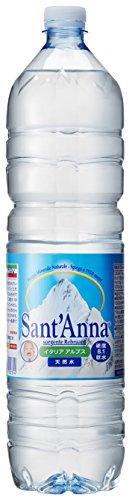 サンタンナ イタリアアルプス 天然水 ペット 1500ml×6本