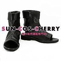 【サイズ選択可】コスプレ靴 ブーツ K-1933 NARUTO ナルト 夕日紅 ゆうひくれない 女性23.5CM