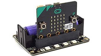 拡張ボード Micro:bit用 バッテリー/DCモーター/stepモーター/サーボ/RGBピクセル/LEGOをサポートする
