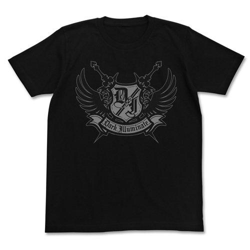 アイドルマスター シンデレラガールズ ダークイルミネイト Tシャツ ロゴVer. ブラック XLサイズ