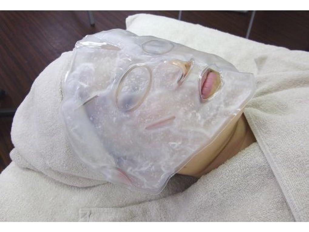 紫のカジュアル前売【温感?冷感兼用】柔らかく使用感の良い、業務用バイオジェルマスク