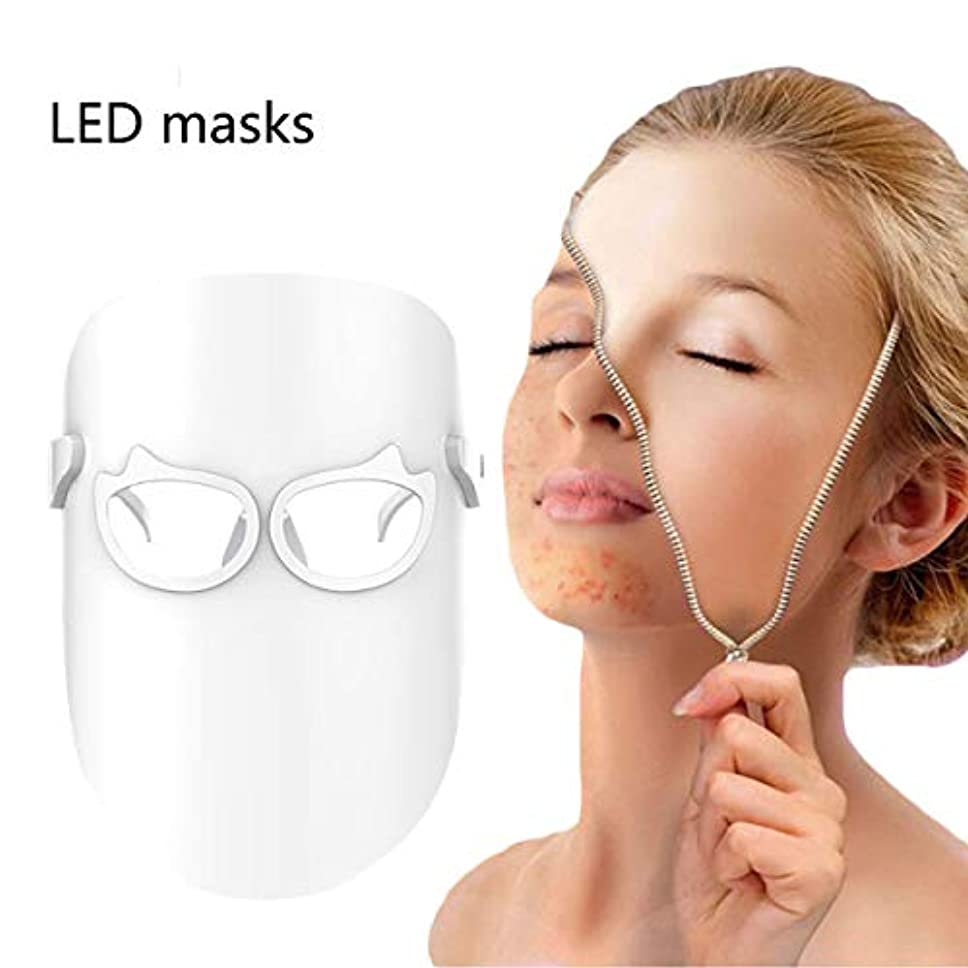 ウッズ大輪郭美容機器のスペクトルマスクは、光肌の若返りフェイススキンケアアンチエイジングしわの除去そばかすの除去を導きました