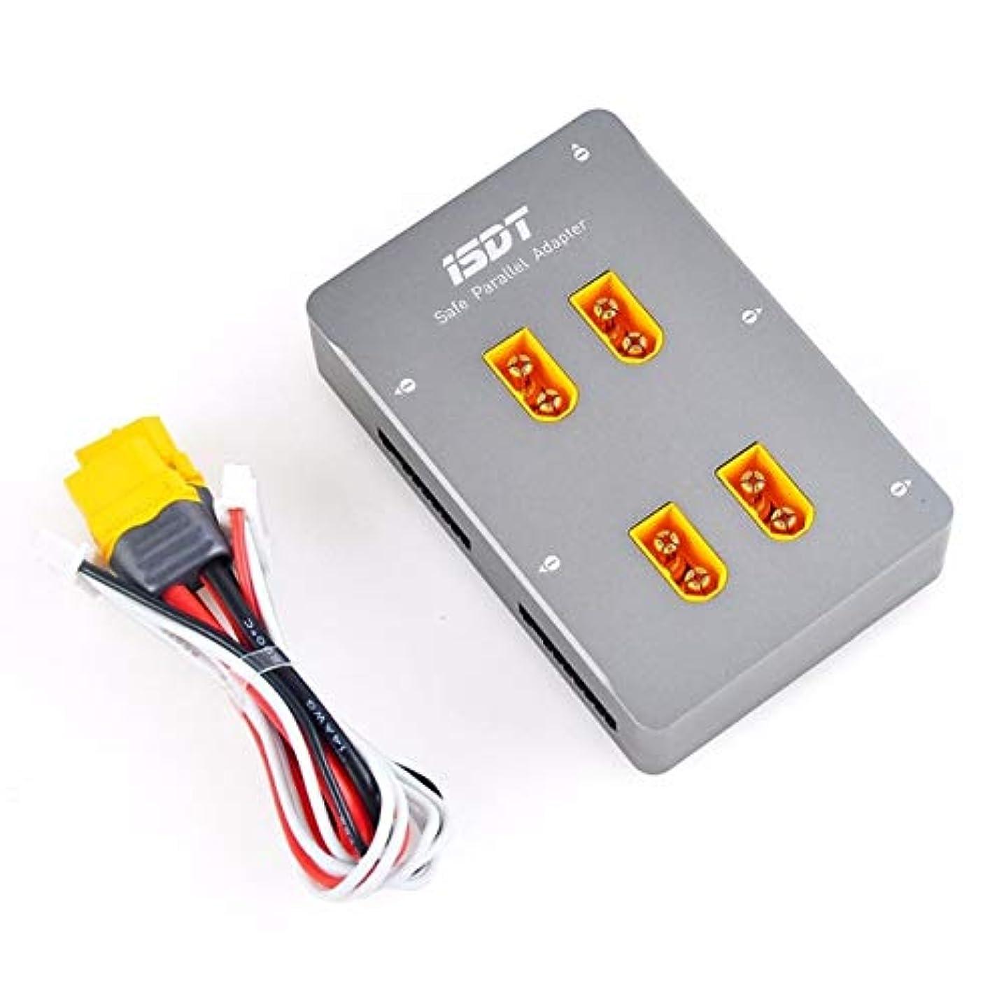 メンタル援助身元DeeploveUU ISDT用PC-4860セーフパラレルボードXT60プラグパラレル1-8S充電ボードSC-608用SC-620ドローン充電アクセサリー