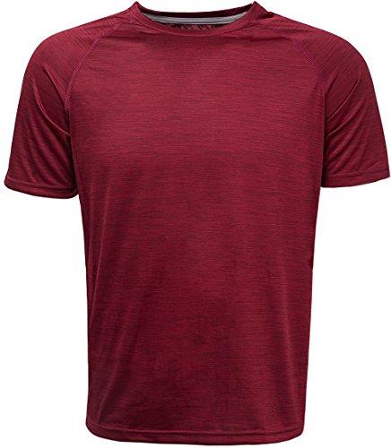 コンプレックス(KomPrexx) メンズ トレーニング t シャツ 吸汗速乾 ドライ クルーネック 半袖