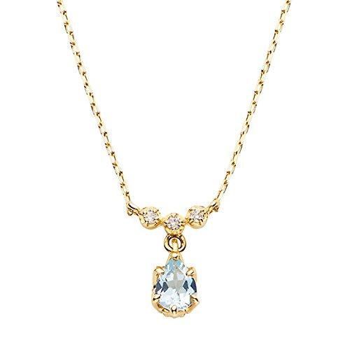[VAヴァンドーム青山] VA VENDOME AOYAMA K10YG アクアマリン ダイヤモンド 0.01ct パレスプリング ネックレス GJVN034540AQの詳細を見る