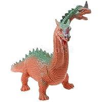 レッドプラスチック恐竜動物モデルJurassic Jakiro Figure Toy for Children