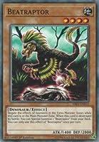 【Unlimited】遊戯王 RIRA-EN033 縄張恐竜 Beatraptor (英語版 Unlimited Edition ノーマル) Rising Rampage