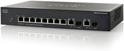 Cisco(SmallBusiness) (SRW2008-K9-JP) SG300-10-JP 8ポート 10/100/1000 ギガビット スイッチ SG300-10-JP