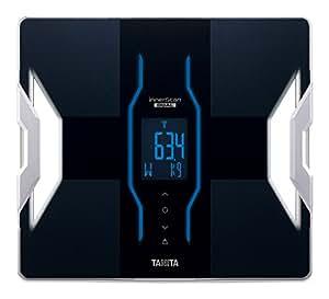 タニタ 体組成計 インナースキャンデュアル RD-900-BK(ブラック) iPhoneアプリで健康管理