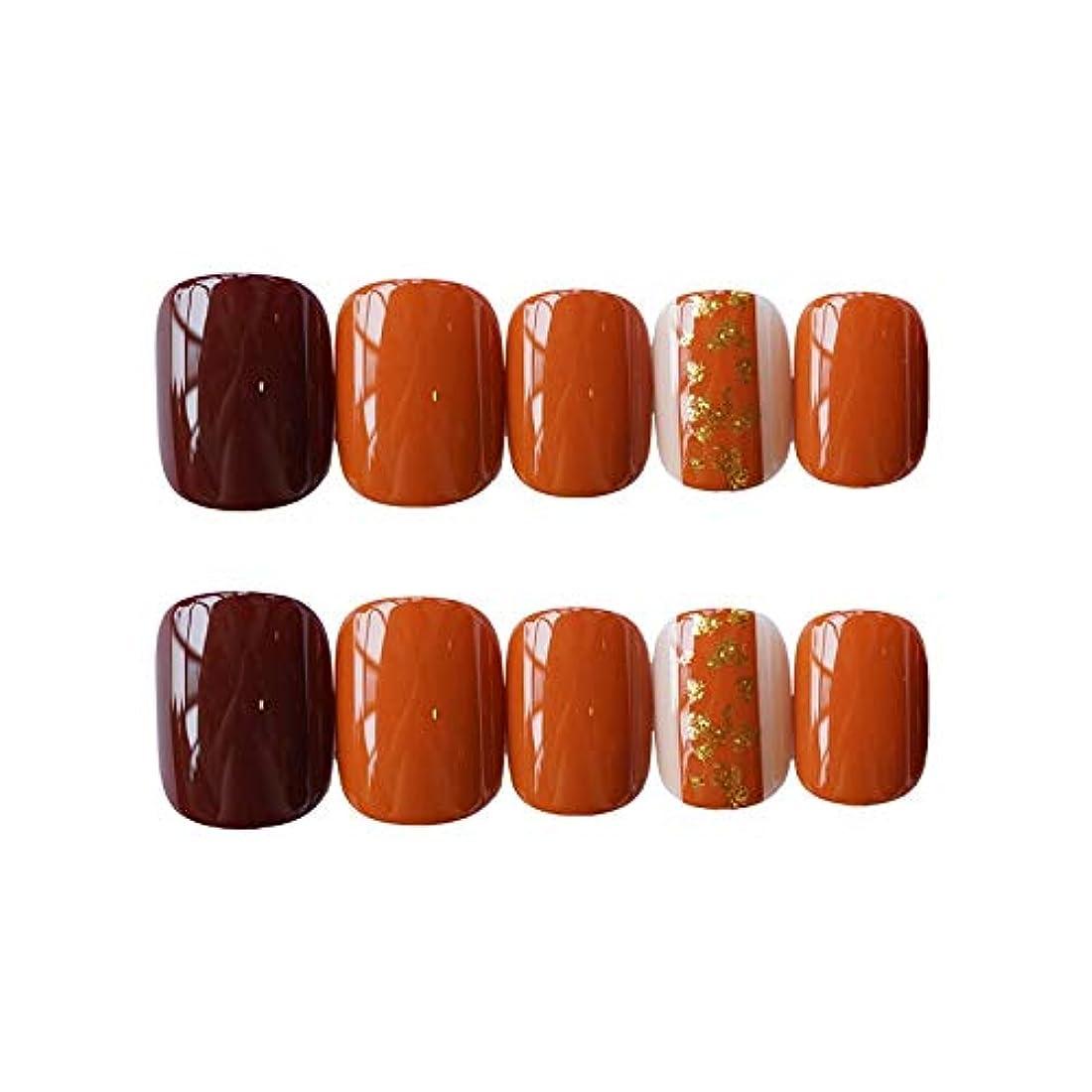少年道路本質的にNANNAN ネイルチップ ネイルチップ つけ爪 付け爪 つけ方簡単 ネイル デコネイルコレクション シール ハロウィン 母の日 パーティ 人気 毎日変身 24枚セット