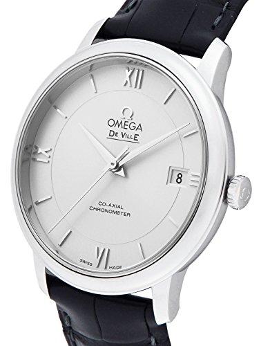 [オメガ]OMEGA 腕時計 デ・ビル シルバー文字盤 コーアクシャル自動巻 アリゲーター革ベルト クロノメーター 424.13.40.20.02.001 メンズ 【並行輸入品】