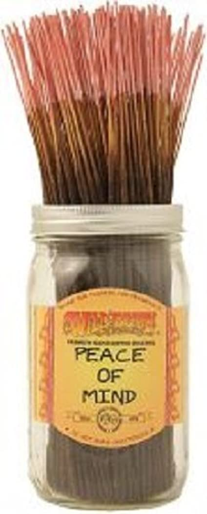 栄養安全でない幻滅50 Wildberry Incense 11 Sticks - Peace of Mind by Wild Berry