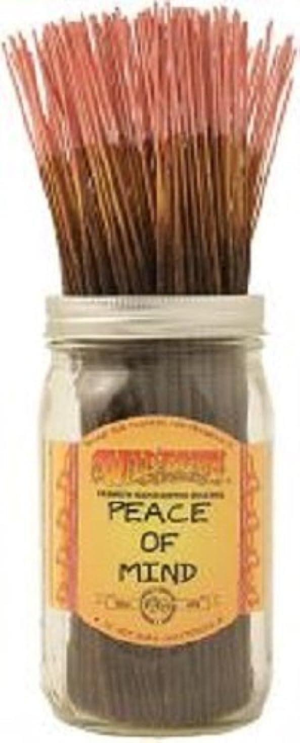防止現在従う50 Wildberry Incense 11 Sticks - Peace of Mind by Wild Berry