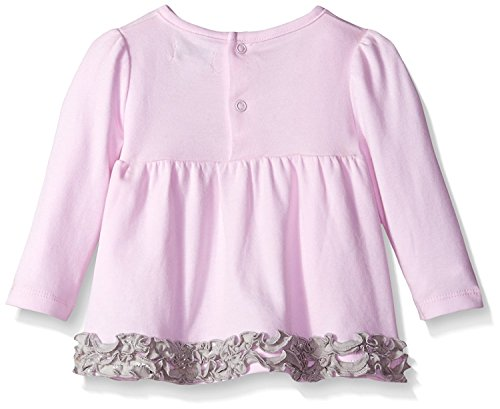 Hartstrings Baby-Girls Cotton Interlock Star Tunic and Metallic Printed Legging Blush Bride 3-6 Months [並行輸入品]
