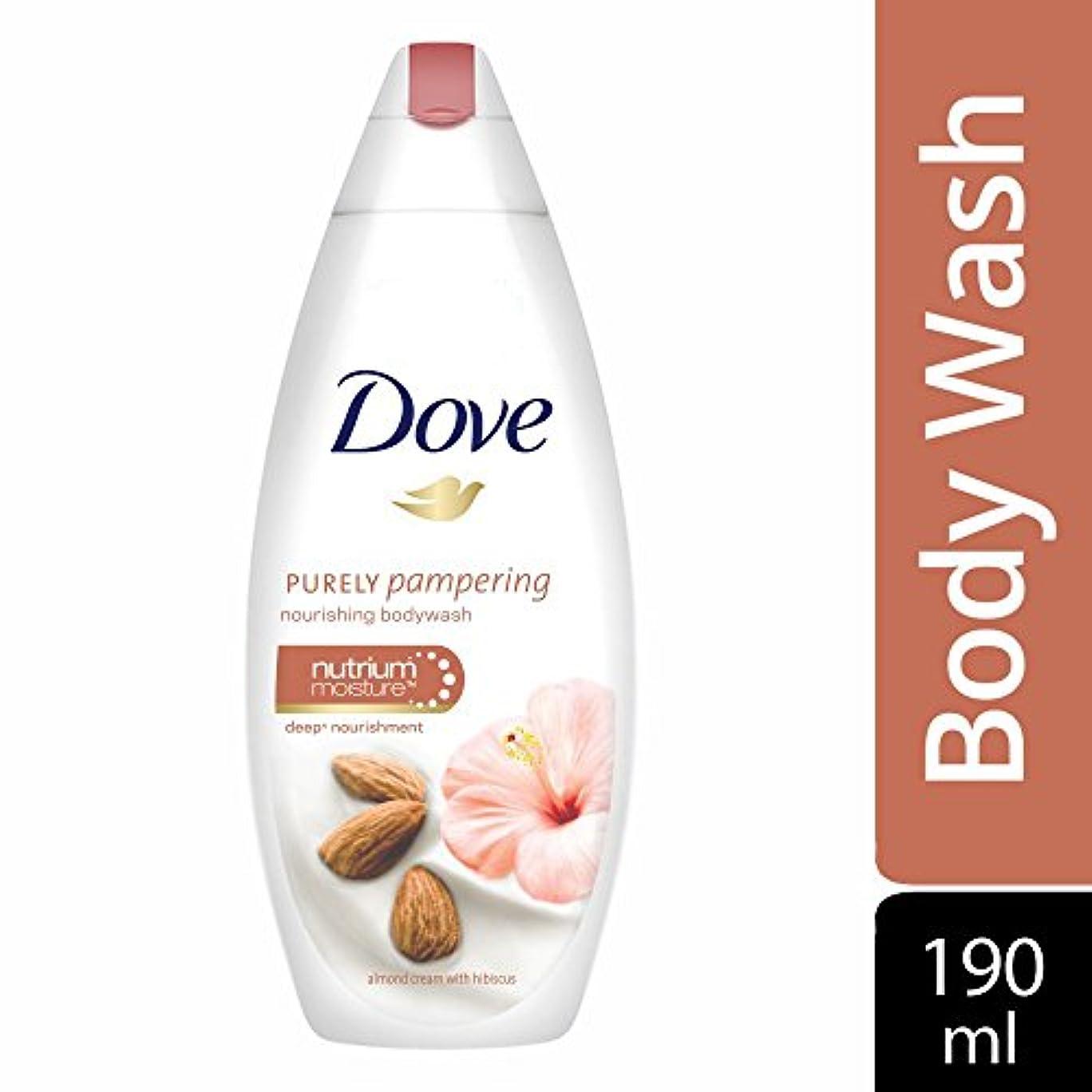 熱編集する疎外するDove Purely Pampering Almond Cream and Hibiscus Body Wash, 190ml