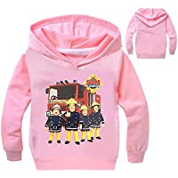 Color at Picture 5 3T 2-12Y 2018 New Year Children Cartoon Fireman Sam Clothes Spring Outdoor Kids Outwear Long Sleeve Jumper Causal Jacekt Coat