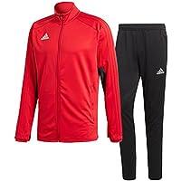 アディダス(adidas) CONDIVO18 トレーニングウエア 上下セット(パワーレッド/ブラック) DJV56-BQ6606-DJU99-BS0526