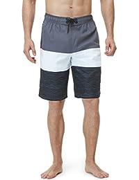 (テスラ)TESLA メンズ 水着 サーフパンツ 海水パンツ ボードショーツ ミドル丈 [UVカット・吸汗速乾] スイムウェア MSB01 / MSB02 (1サイズ ダウン)