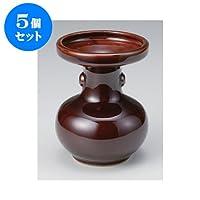 5個セット 雑器 松立5号 [11.5 x 14.5cm] お盆 供養 神事 お墓 仏壇 佛具