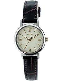 [リコー]RICOH 腕時計 モンペリエ・エミット ソーラー充電式 3気圧防水 レザーベルト ベジュー系 RSL10203 レディース