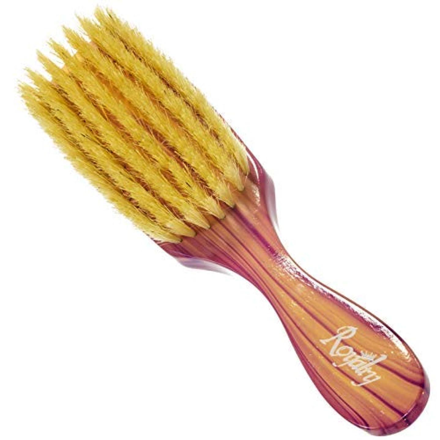 ジャンプする屋内で賠償Royalty By Brush King Wave Brush #703- Medium Soft Brush - From The Maker Of Torino Pro 360 Wave Brushes [並行輸入品]