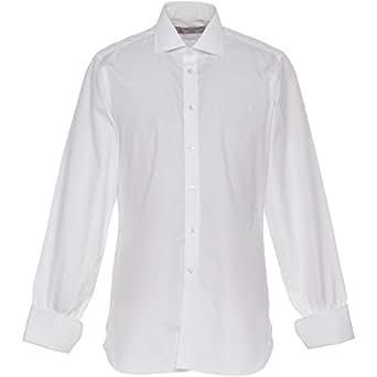 ターンブル&アッサー(Turnbull&Asser) 007 ドクターノーシャツ 日本仕様 ホワイト 14.5 【正規販売店】