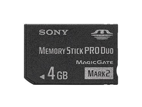 """SONY 著作権保護機能搭載IC記録メディア""""メモリースティック PRO デュオ"""" 4GB MS-MT4G 2T"""