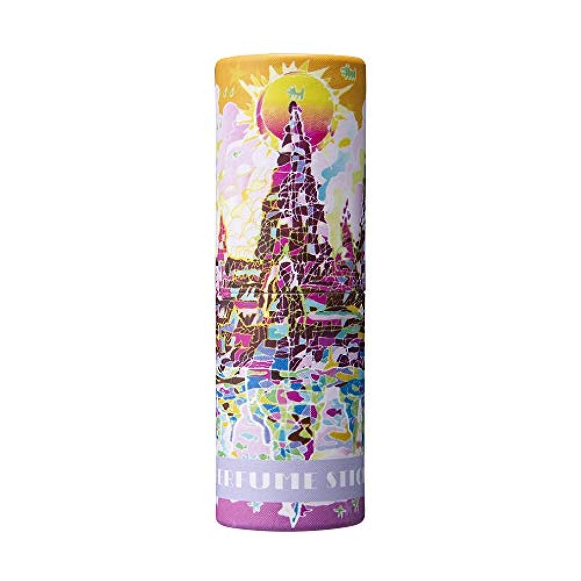おびえた始める倍増パフュームスティック ドリーム ペア&ピーチの香り 世界遺産デザイン 5g